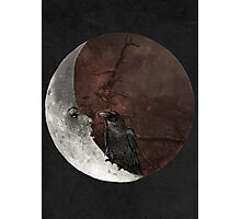 The crown and its moon Photographic Print