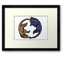 The Pact of the Druid Framed Print