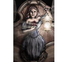 Bow Maiden Photographic Print