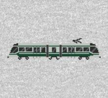 Streetcar - The Kids' Picture Show - Train/Subway - 8-Bit Kids Tee