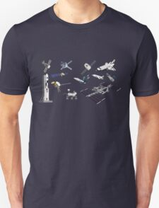Spacecraft - Space Vehicles - The Kids' Picture Show - 8-Bit Unisex T-Shirt