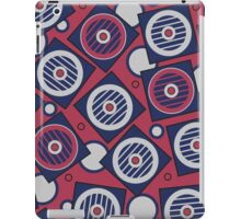 Retro Pattern, geometric, abstract iPad Case/Skin