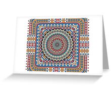 Tribal - Angles II Greeting Card