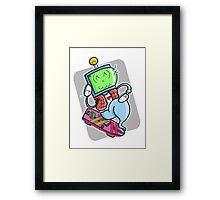 The Ghost Of Christmas Future Framed Print