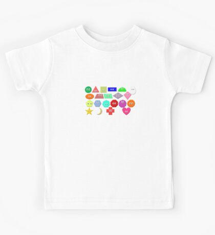 What Shape Is It? - Geometric Shapes - The Kids' Picture Show Kids Tee