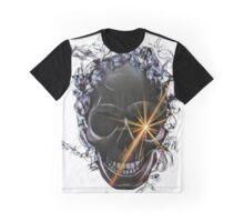 Jewel Eye Skull Art Graphic T-Shirt
