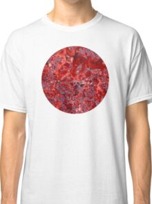 Marble Ruby Sapphire Violet  Classic T-Shirt