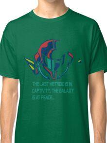 SUPER METROID DEBRIEFING Classic T-Shirt