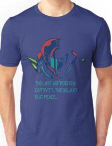 SUPER METROID DEBRIEFING Unisex T-Shirt
