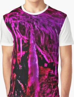 Psychedelic Stalagmites Graphic T-Shirt