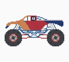 Monster Truck - The Kids' Picture Show - 8-Bit Baby Tee