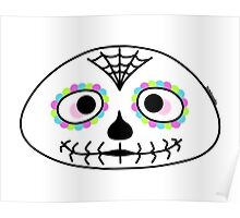 Mexican sugar skull - Halloween collection Poster