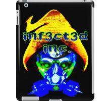 Hooded Skull with Gasmask iPad Case/Skin