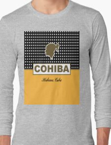Cohiba Habana Cuba Cigar Long Sleeve T-Shirt
