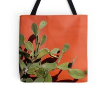 Green and Orange Simplicity Tote Bag