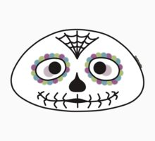 Mexican sugar skull - Halloween collection One Piece - Long Sleeve