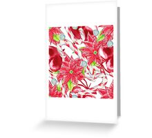 Watercolor Christmas background. Greeting Card