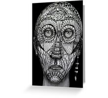 Tattoo man Greeting Card