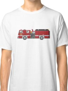 Fire Engine - The Kids' Picture Show - 8-Bit Classic T-Shirt
