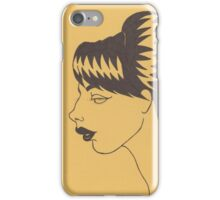 Lisette (Yellow) iPhone Case/Skin