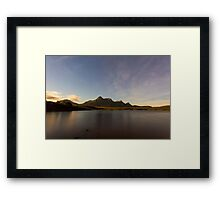 Ben Loyal By Moonlight Framed Print