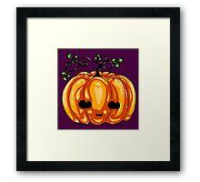 Pumpkie Framed Print