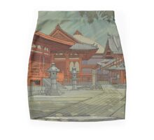 Kyoto Temple Mini Skirt