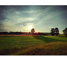 Appeln, north German countryside Photographic Print