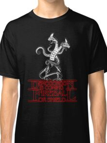 Stranger - Demogorgon is coming Classic T-Shirt