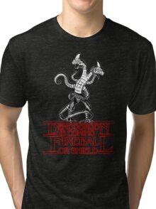 Stranger - Demogorgon is coming Tri-blend T-Shirt
