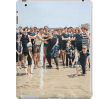 Smile for the camera!! Atlantic City, 1905 iPad Case/Skin