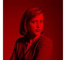 Gillian Anderson - Celebrity (Square) Photographic Print