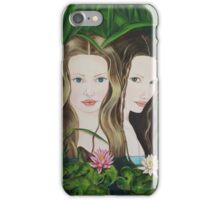 Jeunes nymphes iPhone Case/Skin