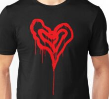 Twin Bleeding Hearts Unisex T-Shirt