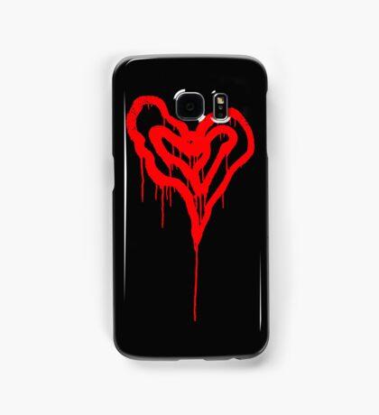 Twin Bleeding Hearts Samsung Galaxy Case/Skin