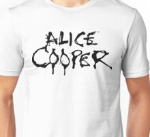 ALICE COOPER LOGO 1 Unisex T-Shirt
