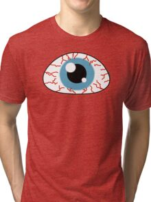 Killer eye - Halloween collection Tri-blend T-Shirt
