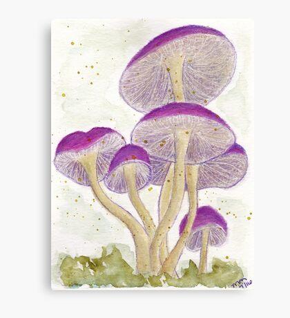 Watercolor - Mixed Media Canvas Print