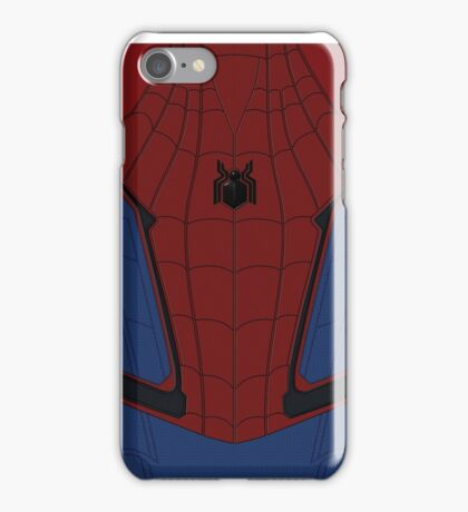 Spider-Man Home-Coming Suit iPhone Case/Skin