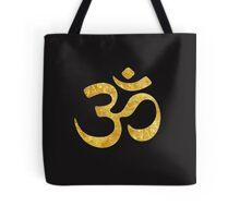 golden symbol OM Tote Bag