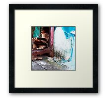 { Corners: where the walls meet #18 } Framed Print