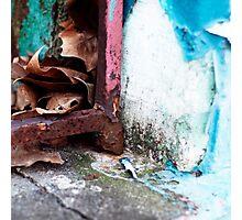 { Corners: where the walls meet #18 } Photographic Print