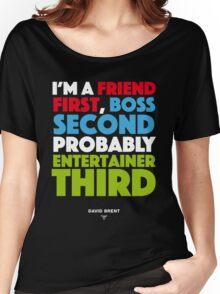 David Brent - Entertainer Women's Relaxed Fit T-Shirt