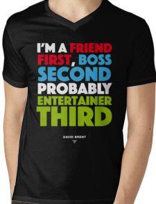 David Brent - Entertainer Mens V-Neck T-Shirt