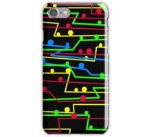 Stay in line iPhone Case/Skin