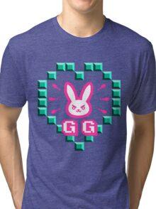 Overwatch Logo Nerf This GG Tri-blend T-Shirt