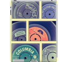 Classic Paper Record Labels iPad Case/Skin