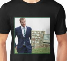 Carson Wentz Philadelphia Eagles Church Wentz Wagon! Unisex T-Shirt