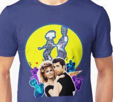 Grease Olivia Newton-John - John Travolta- Blue Moon Unisex T-Shirt