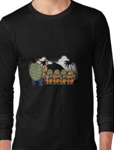 Dragon Ball Z - Ninja Kame Kids Long Sleeve T-Shirt